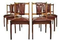 dining chairs (set of 6) by schulim krimper
