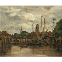 quiet harbor by theodore wendel