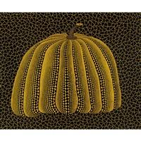 pumpkin (yellow y) by yayoi kusama