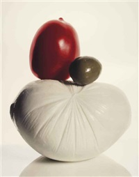 italian still life (b), new york by irving penn
