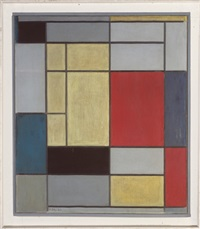 composition i by piet mondrian
