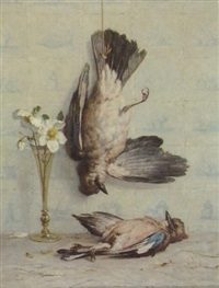 still life with jays by louise mary (heald) bancroft