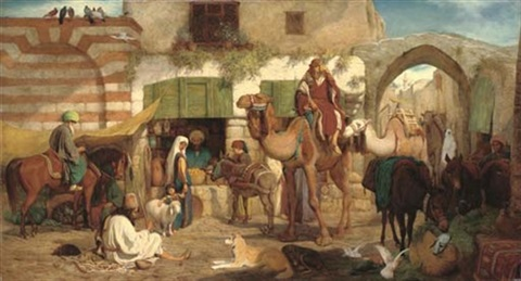 a street in jerusalem by william j webbe webb