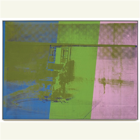 big electric chair by andy warhol & Big electric chair by Andy Warhol on artnet
