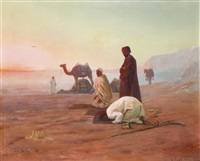 la prière au désert by otto pilny