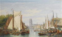the port of rotterdam by george henry andrews