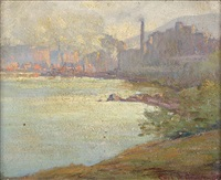 duluth harbor by carl wendell rawson