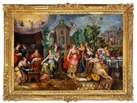 the parable of the wise and the foolish virgins by pieter lisaert