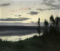 nightfall by andrei nikolaevich shilder