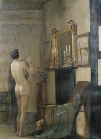 interior, the model's corner by leopold lemage swain