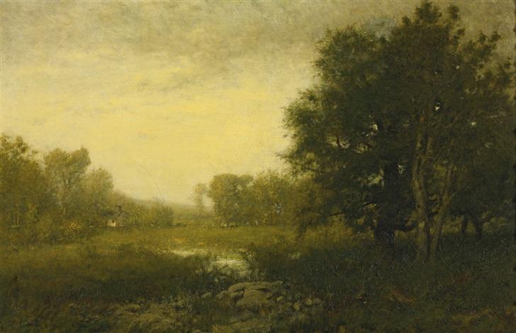 a summer day by alexander helwig wyant