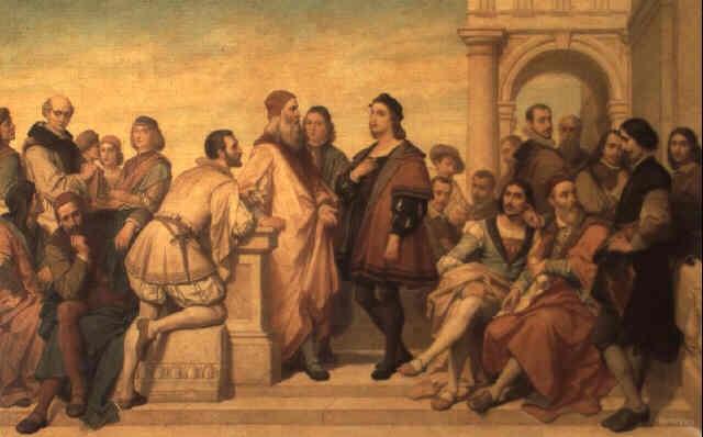 lecole de peinture italienne by nicaise de keyser