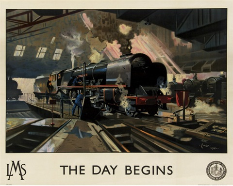 the day begins lms by terence cuneo