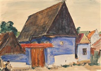houses from sibiu by octavian angheluta