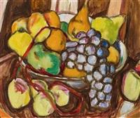 stillleben mit früchten by ivo hauptmann