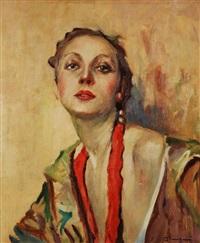 ritratto di donna by giuseppe amisani
