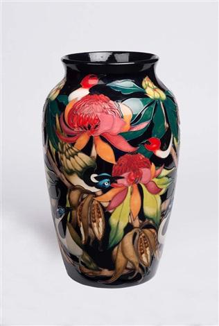 Vase The World.Moorcroft A New World Waratah Vase By Moorcroft On Artnet