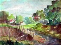 paisaje by leonidas gambartes