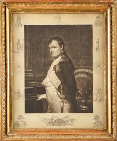 lempereur napoléon 1er dans son bureau des tuileries by g giandi by paul hippolyte delaroche