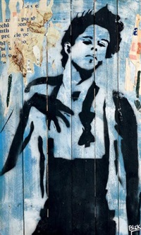 tom waits by blek le rat