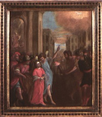 sainte agnès by francesco (cecco bravo) montelatici