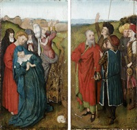scènes religieuses (pair) by adriaen isenbrant