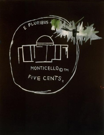 monticello by jean michel basquiat