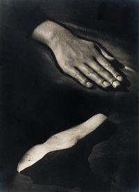 hand and stone by raoul ubac
