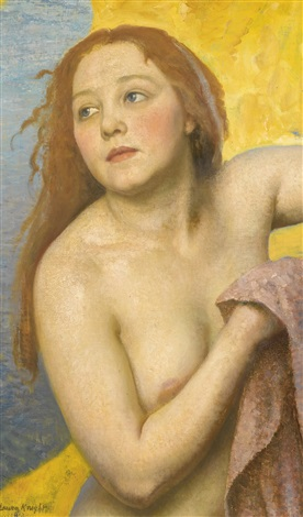 the bather by dame laura knight