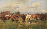 koňský trh by wilhelm velten