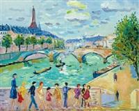 le pont de la concorde by jean picot