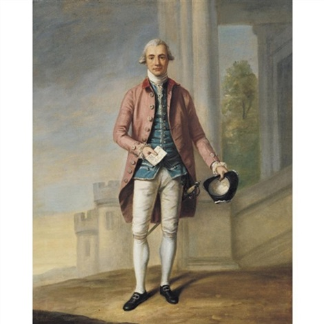 portrait of a gentleman sir james wright by samuel de wilde
