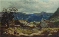 near braemar, aberdeenshire by thomas j. banks