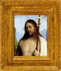 busto di cristo by giovanni agostino da lodi