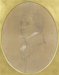 portrait of lord fitzroy james henry somerset, 1st baron raglan, g.c.b. (1788-1855), bust-length by thomas lawrence