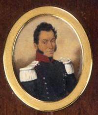 portrait de militaire by jean baptiste ferdinand mulnier