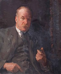 portrait of a gentleman by henry young alison
