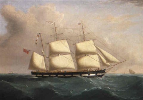 the barque rubin by william gay yorke