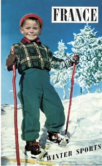 france, winter sports by karl machatcheck