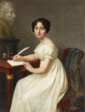 alix de montmorency, duchesse de talleyrand by henri françois riesener