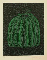 pumpkin gt by yayoi kusama