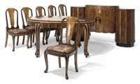 dining suite (set of 8) by h. & l. epstein