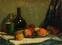 still life with potatoes by solomon garf