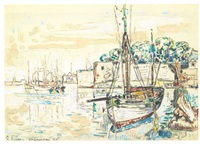 port de concarneau by paul signac