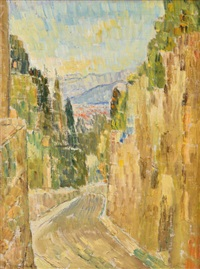 looking towards florence and mote morello by grace cossington smith