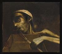 a) el hambre del pintor (+ la muerte de egon schiele; 2 works) by arturo rivera