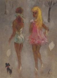 two friends by doris (michalis papageorgiou)
