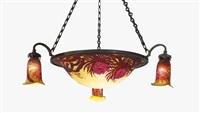 chandelier by émile gallé