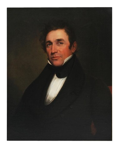 portrait of george wilmer ford born 1795 war of 1812 by samuel fb morse