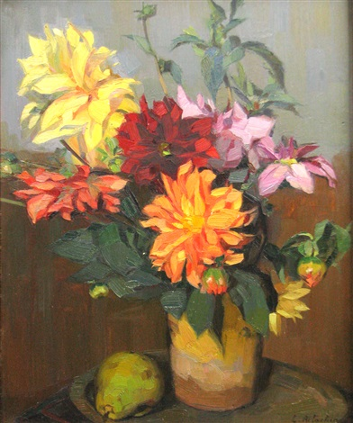 dahlias by constantin artachino